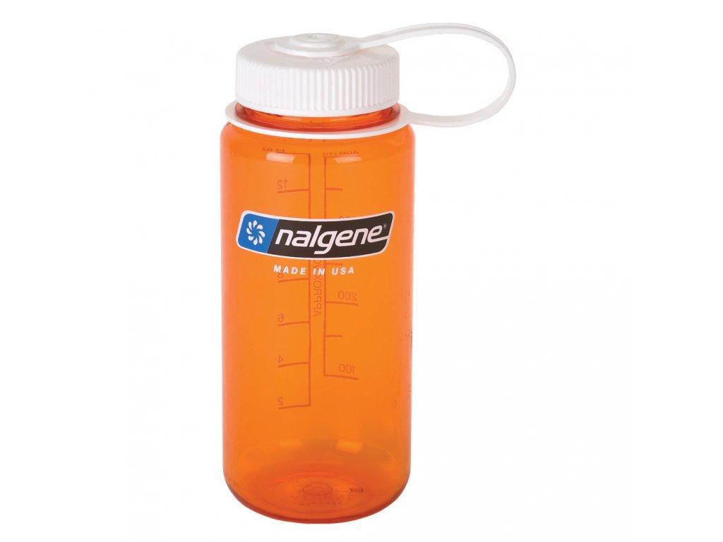 NALGENE - láhev na pití Wide Mouth 500 ml Orange