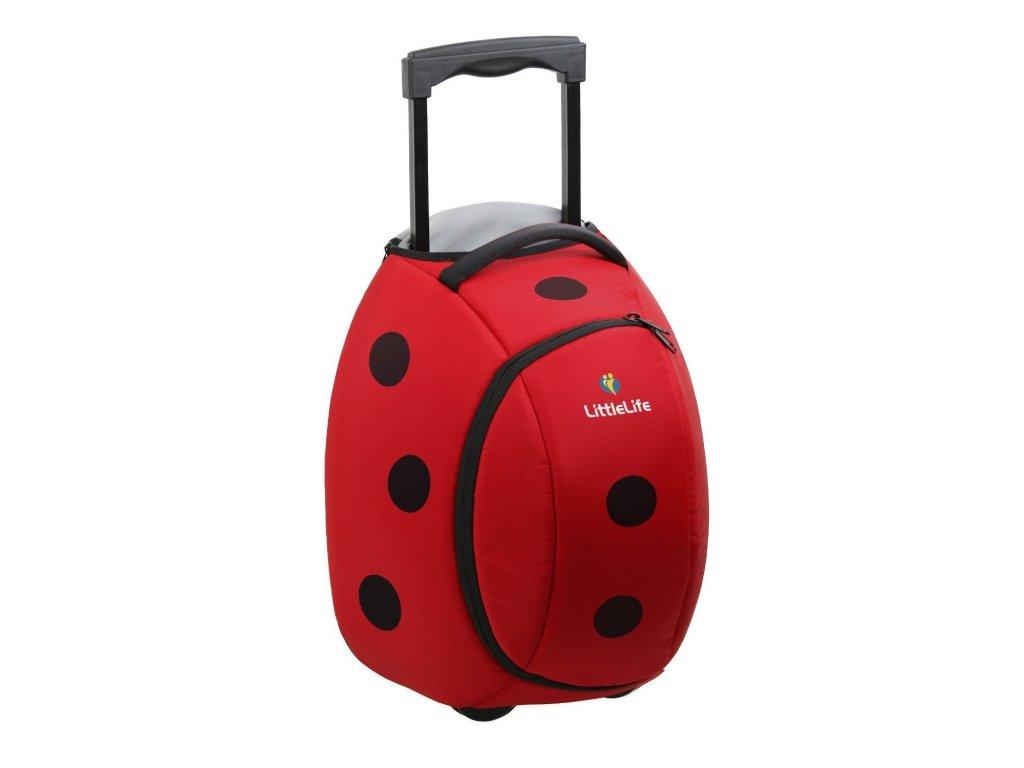 LittleLife dětská cestovní taška Animal Wheelie Duffles Ladybird