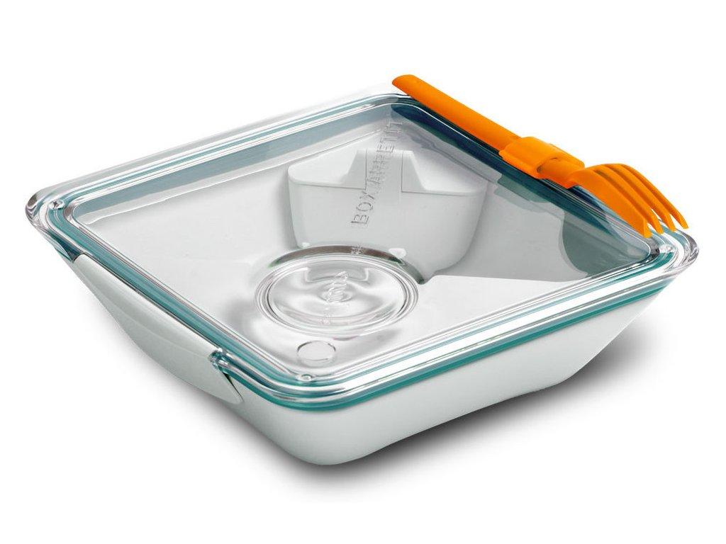 BLACK-BLUM Lunch Box Apetit, bílo modrý