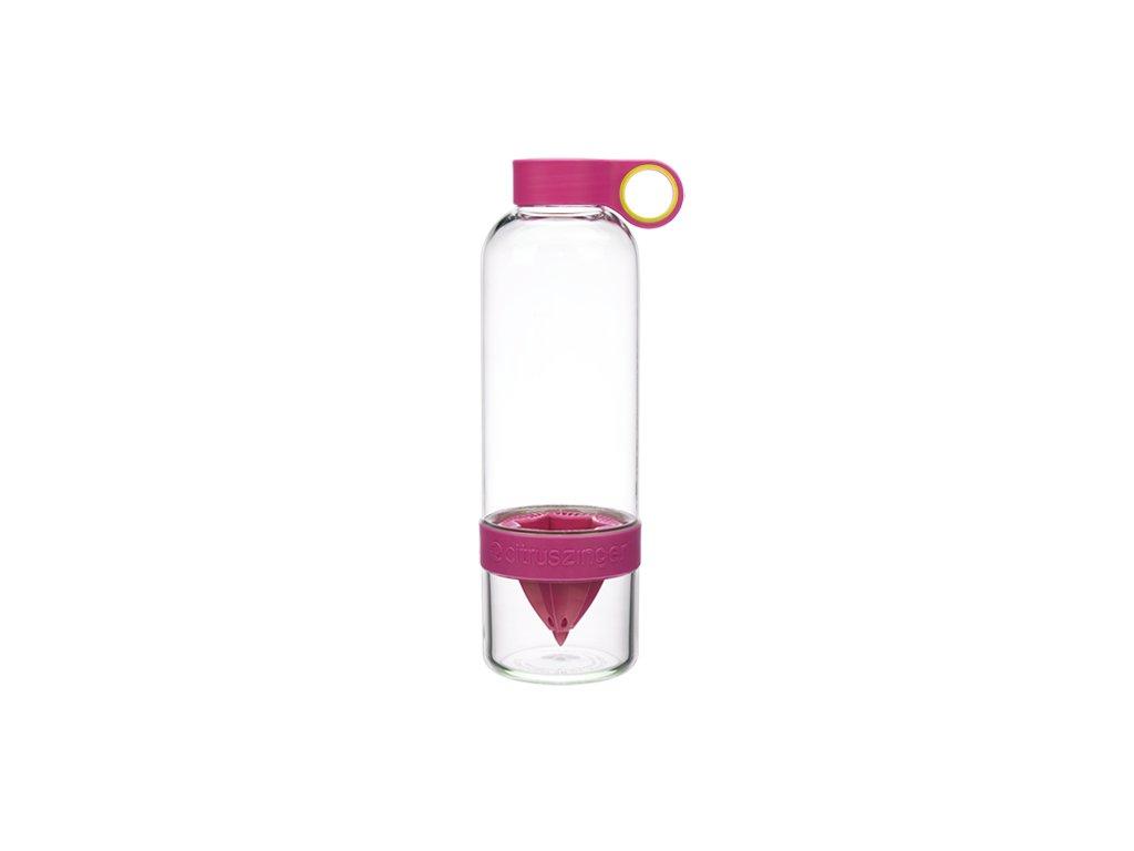Zing-Anything plastová lahev Citruszinger růžová