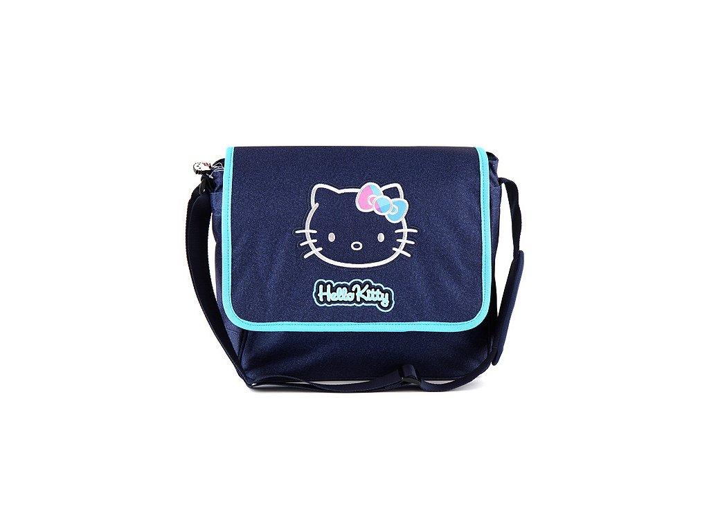 Hello Kitty taška přes rameno modrá jeans