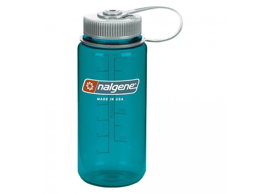 NALGENE - láhev na pití Wide Mouth 500 ml Trout Green