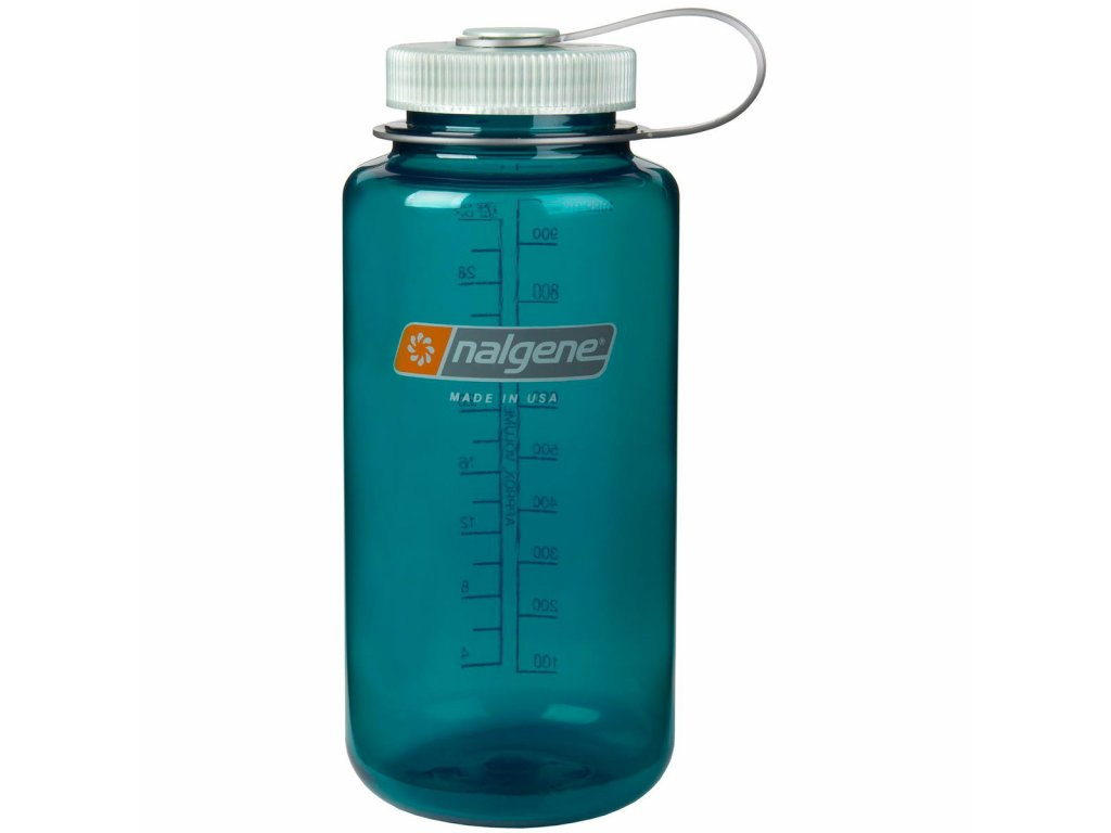 NALGENE - láhev na pití Wide Mouth 1000 ml Trout Green