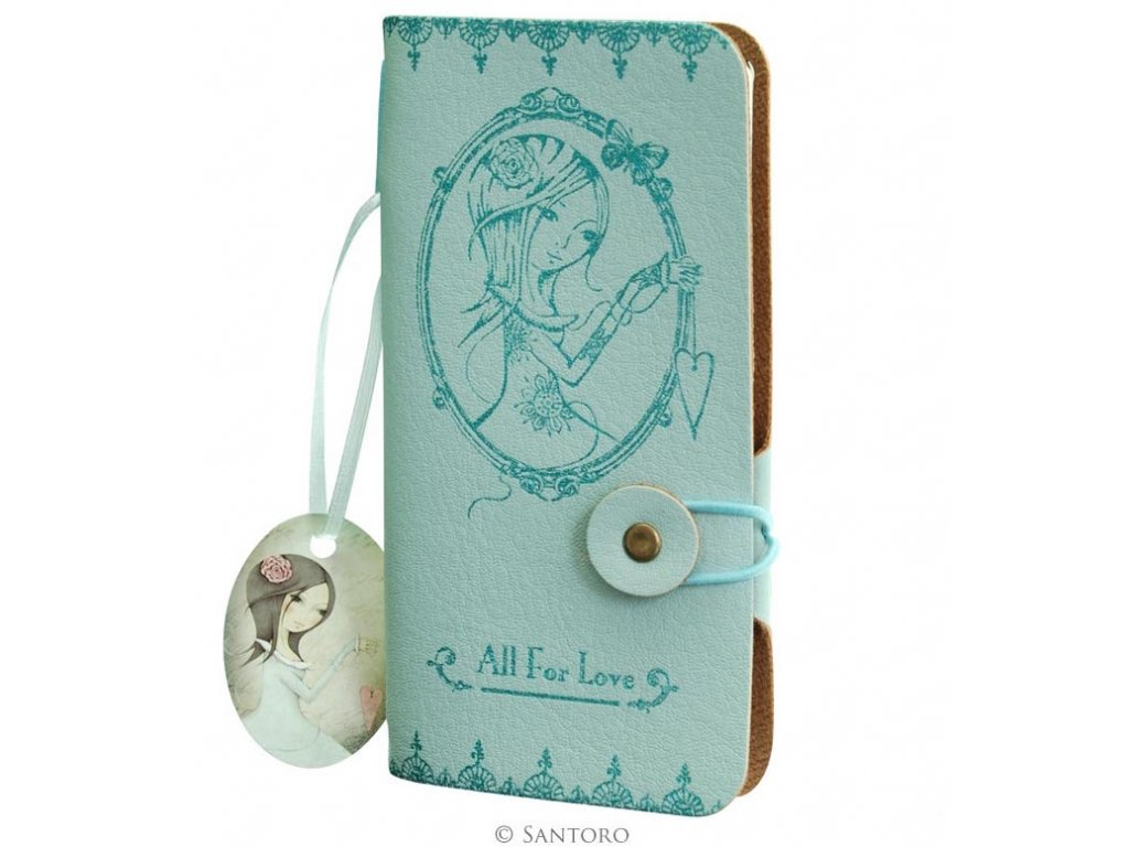 SANTORO  zápisník Mirabelle ALL FOR LOVE