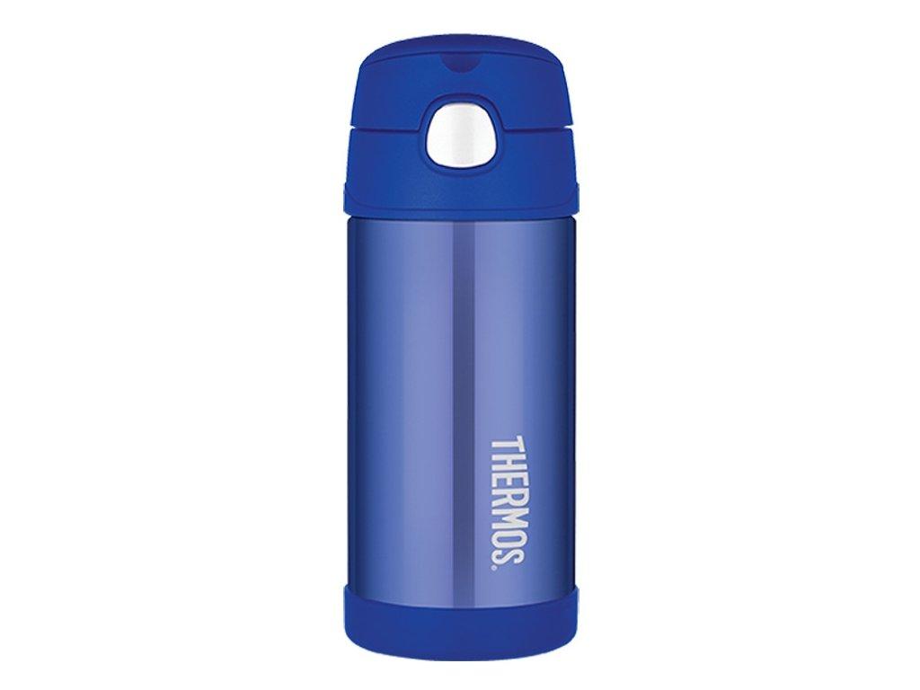 Thermos - FUNtainer dětská nerezová termoska 355 ml modrá