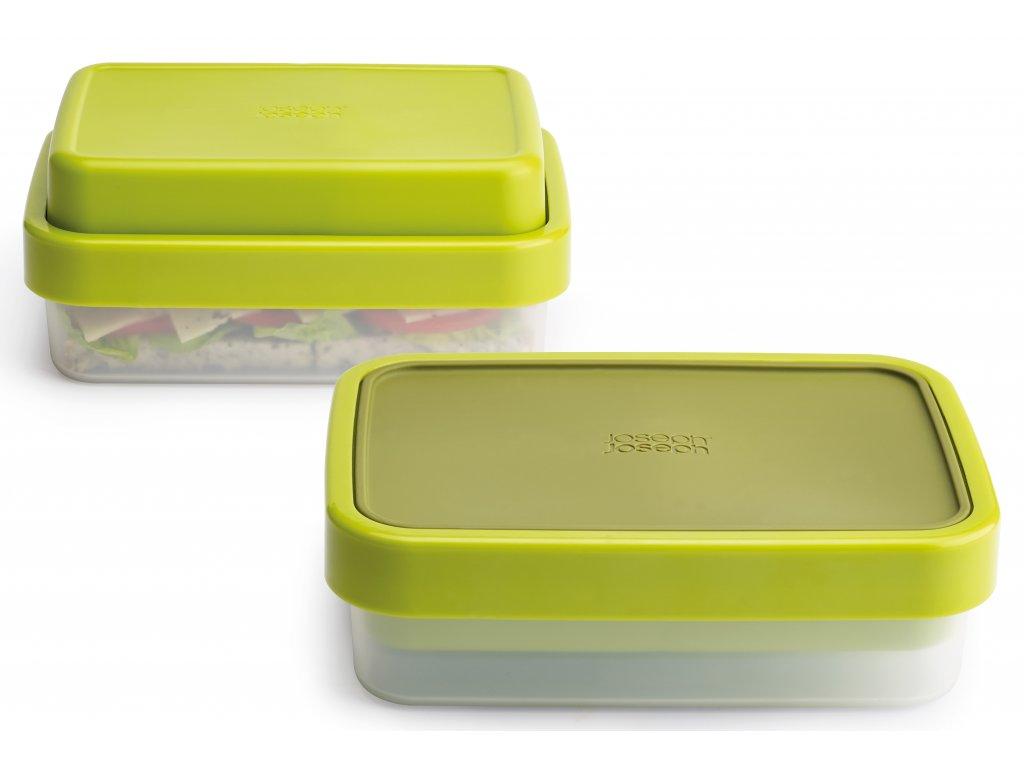 Joseph Joseph - lunch box na jídlo GoEat zelený