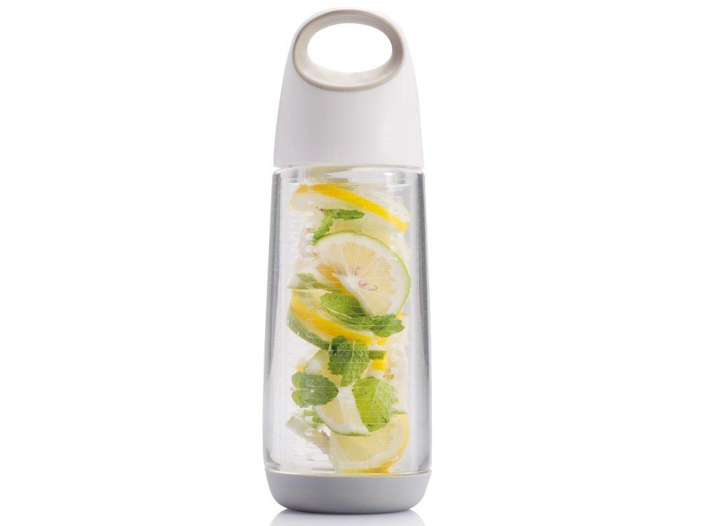 XDDESIGN - lahev na vodu s ovocem BOPP FRUIT bílá