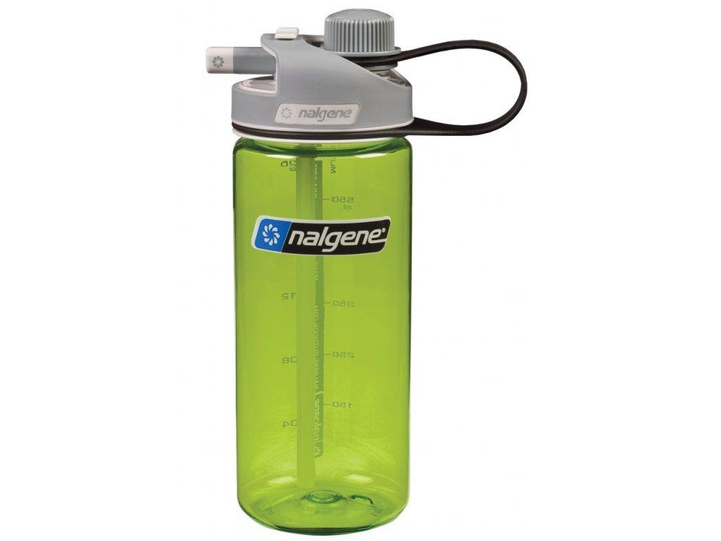 Láhev na vodu Nalgene Multidrink zelená