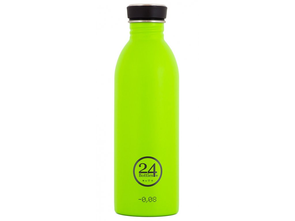 designová nerezová limetková lahev na vodu