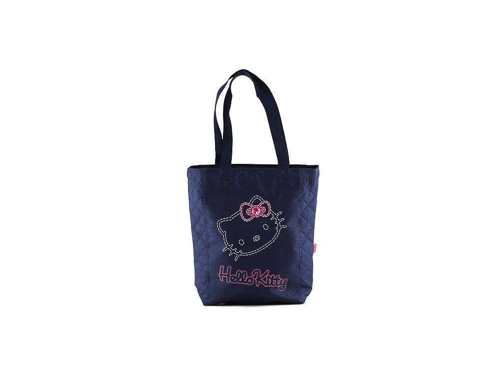 Hello Kitty taška přes rameno Jeans modrá
