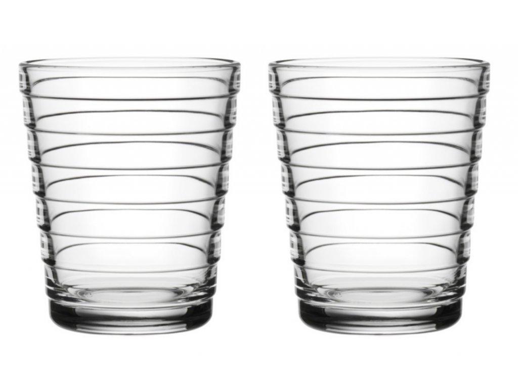 Iittala - skleničky Aino Aalto 220 ml set 2 ks