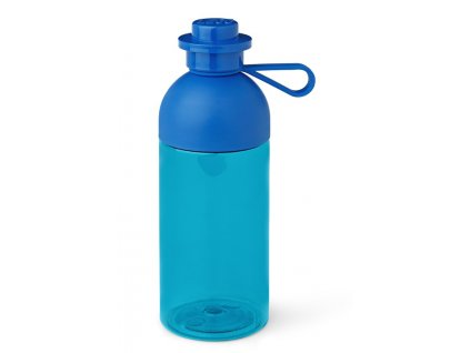 LEGO láhev na pití transparentní 500 ml modrá
