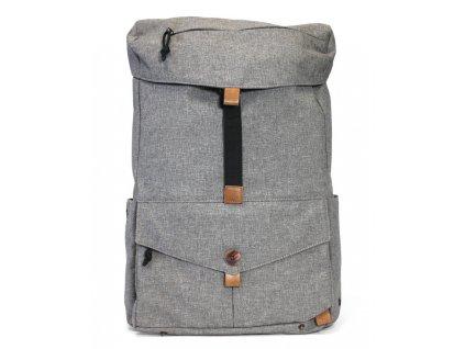 PKG batoh DRI Backpack - hnědošedý