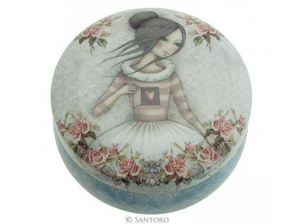 SANTORO - dekorativní krabička MIRABELLE - THE SECRET