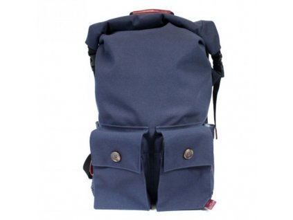 PKG batoh DRI Rolltop Backpack - Navy Burgundy