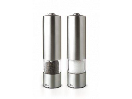 AdHoc - Keramický mlýnek na pepř a sůl 2 ks - elektrický