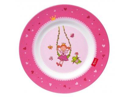 Sigikid melamin talíř princezna PINKY QUEENY