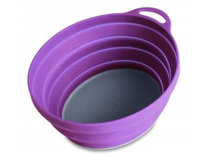 75515 silicone ellipse bowl purple 6