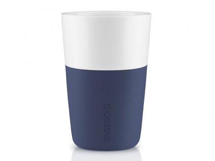 Eva solo - termohrnek na latte set 2 ks nám. modré