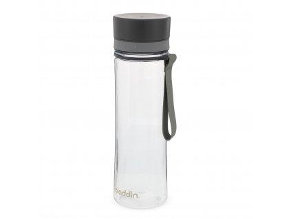 Aladdin plastová láhev na vodu Aveo 600 ml šedá