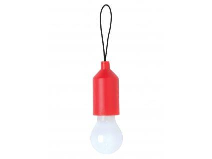 Loooqs přívěšek na klíče s LED osvětlením červený