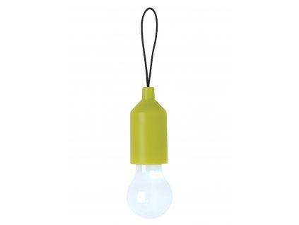 Loooqs přívěšek na klíče s LED osvětlením zelená