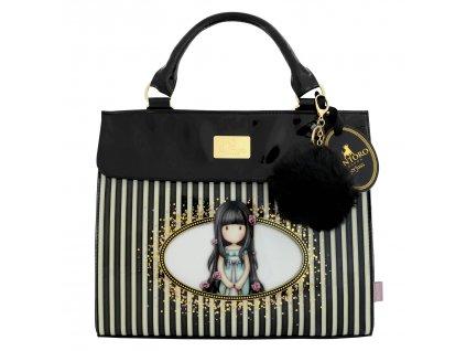 Santoro - kabelka Classic Stripe Large Shoulder Bag - Rosebud