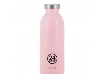 24Bottles - termolahev Clima Bottle Candy Pink 0,5l