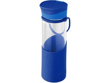 Aladdin - skleněná lahev ENJOY 500 ml modrá