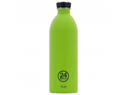 24Bottles - nerezová lahev Urban Bottle 1000 ml Lime Green