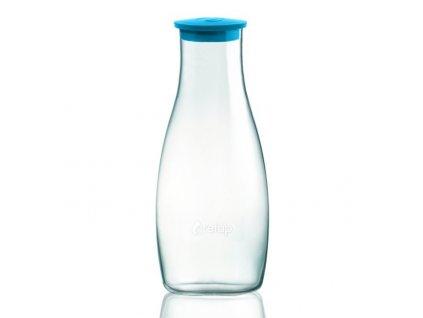 Retap skleněná karafa 1,2l azurová