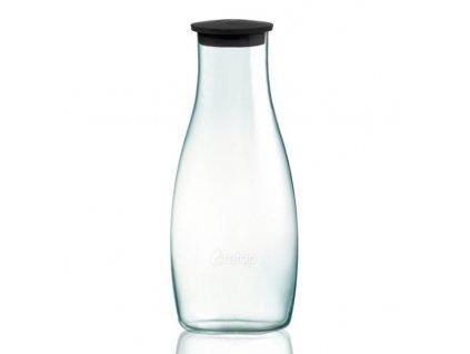Retap skleněná karafa 1,2l černá