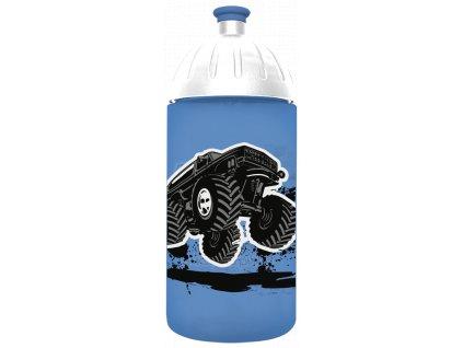 FreeWater plastová lahev 0,5l Monster Truck modrá