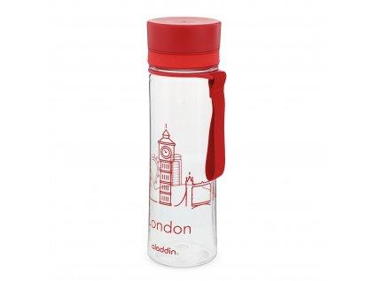 Aladdin plastová láhev na vodu Aveo 600 ml London