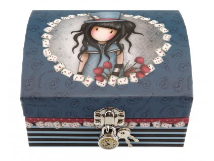 SANTORO uzamykatelná krabička The Hatter