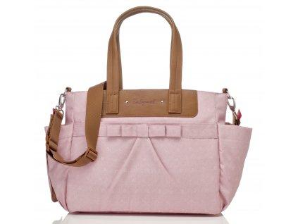 Babymel - multifunkční kabelka Cara Bloom Dusty Pink