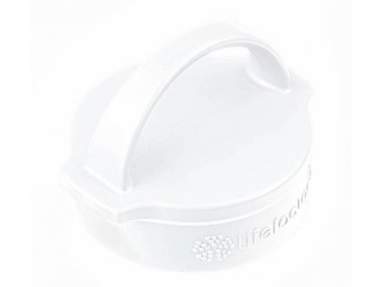 Lifefactory klasický uzávěr arctic white