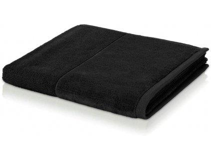 Möve - bambusový ručník černý