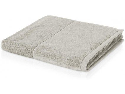 Möve - bambusový ručník šedo-stříbrná