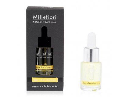 Millefiori Milano aroma olej dřevo a pomerančové květy 15 ml
