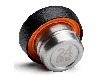 24Bottles - náhradní víčko Clima Bottle černé