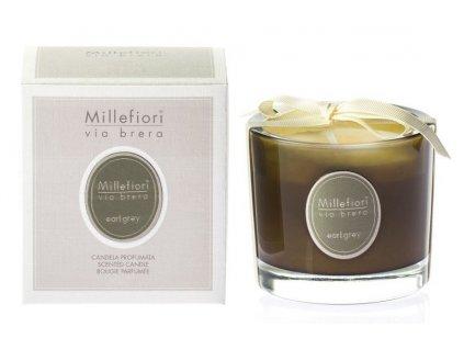 Millefiori Milano vonná svíčka Via Brera 180 g Earl Grey