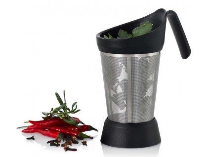 AdHoc - Infusér na čaj / sítko na koření SPICEBOY se stojánkem