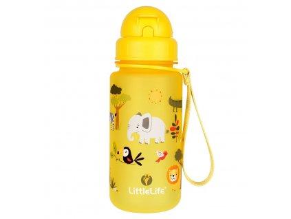 LittleLife lahev pro děti Animal Bottle 400 ml safari