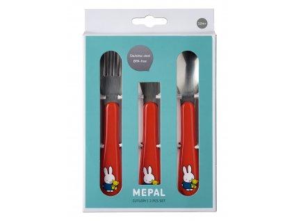 Mepal sada příborů pro děti Miffy Plays