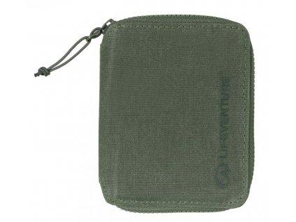 Lifeventure peněženka RFiD Bi-Fold olivová