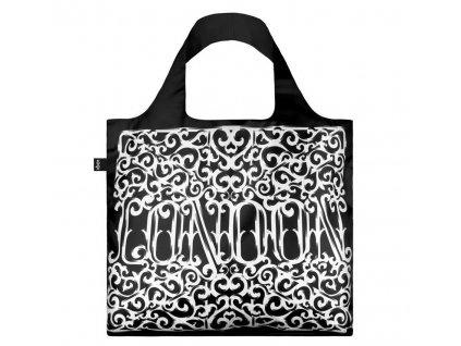 LOQI skládací nákupní taška SAGMEISTER London