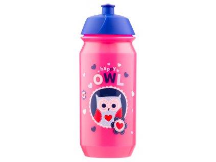 Baagl plastová láhev Sovičky 500 ml