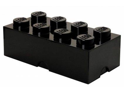 LEGO box na svačinu černý