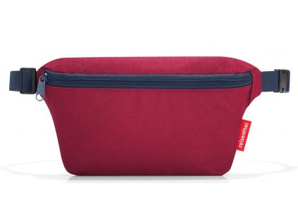 Reisenthel ledvinka Beltbag S dark ruby